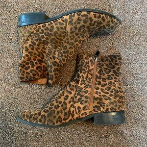 Top shop leopard booties!!!